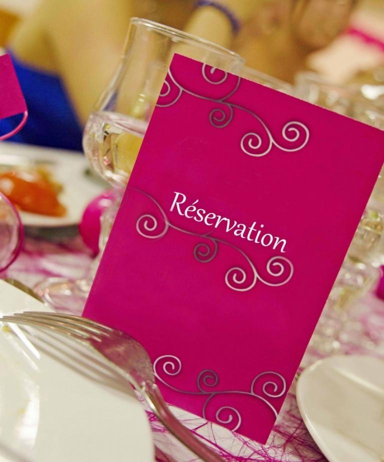 réservation mariage