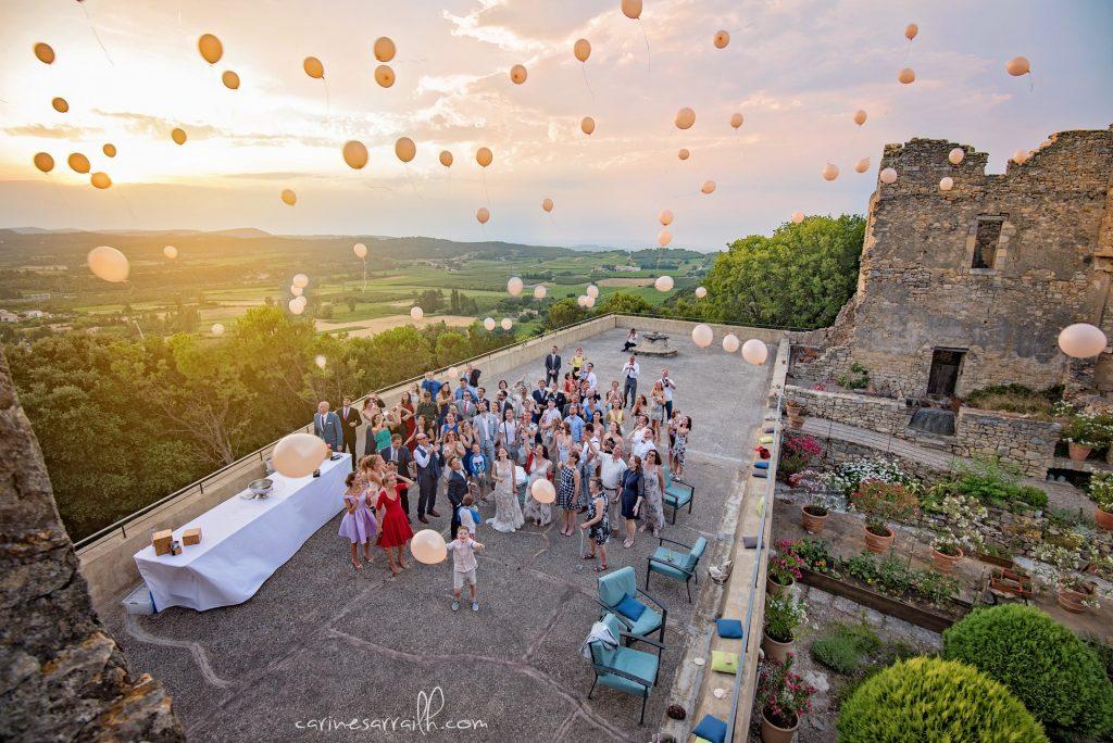 mariage chateau venejan