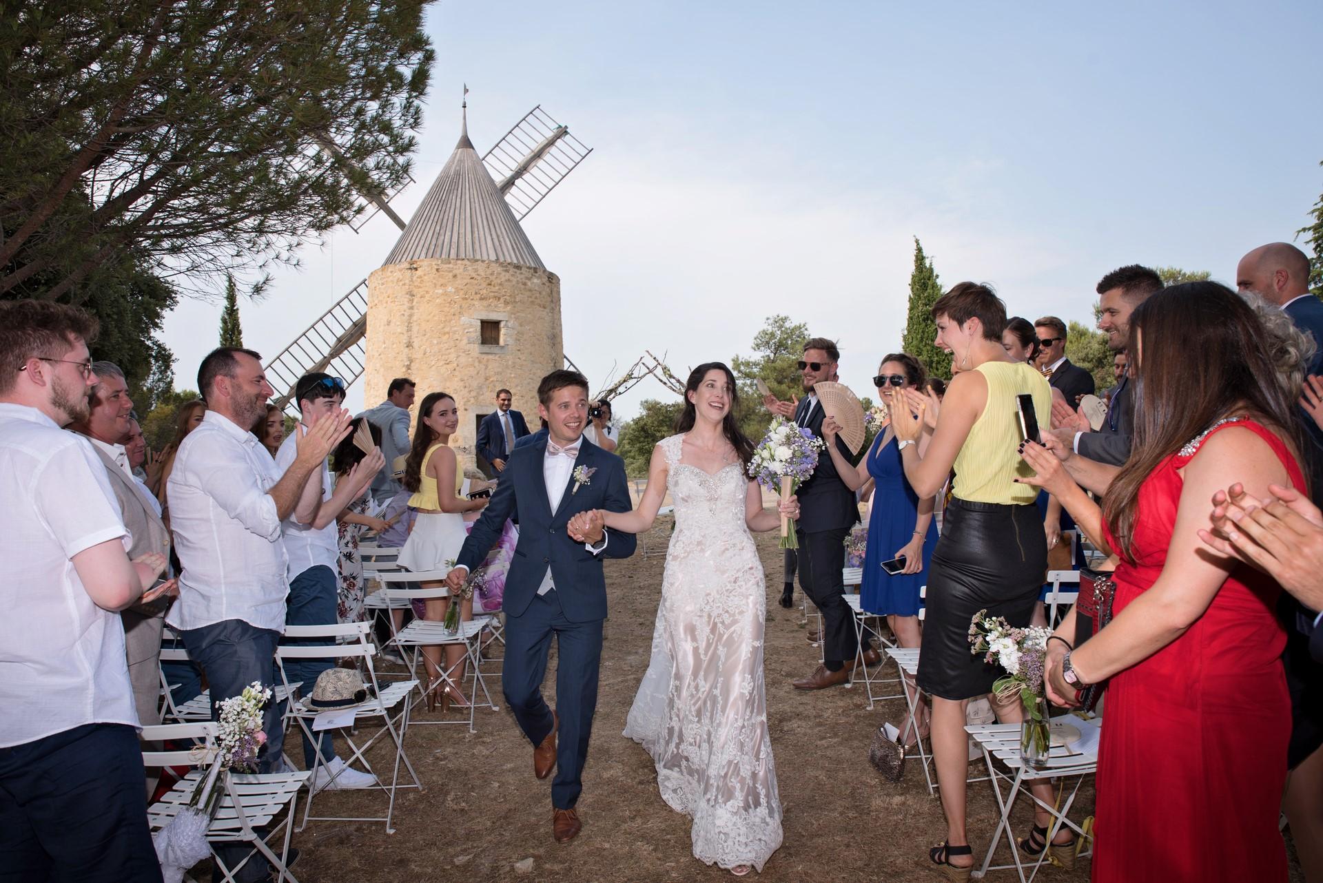 mariage-château-Vénéjan
